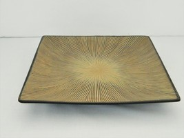 Dinner Plate – Gibson – GABBAY Pattern – Square Shape - Ceramic - $10.63
