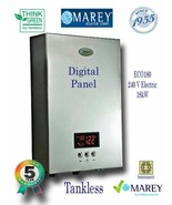 Electric Water Heater Tankless Marey ECO180 Best On Demand 5 GPM 240V - $374.99
