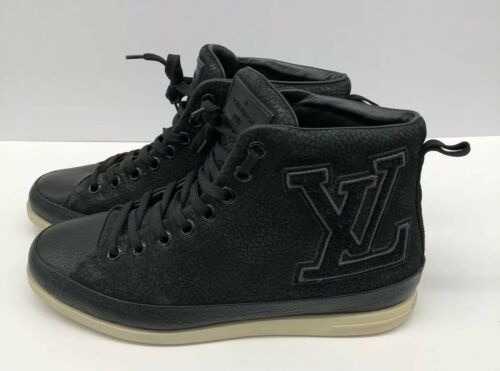 df7099d820f Louis Vuitton LV Black High Top Suede and 19 similar items