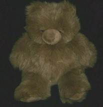"16"" Big Vintage 1993 Ty Pudgy Brown Teddy Bear Stuffed Animal Plush Toy Cl EAN - $27.12"
