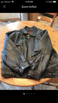 Men's 2 in 1 WILSONS LEATHER Jacket size XL Vintage  - $130.00