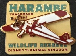 Disney Attractions Animal Kingdom Harambe Airplane Trademark 1998 LE 350... - $9.15