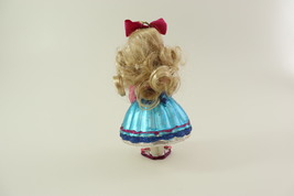 Hand Blown Glass Christmas Ornament of a little Girl  image 9