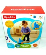 BRAND NEW!! Fisher Price Push N Pop Elephant Push Along Toy 12-36 Months NIB ! - $14.46