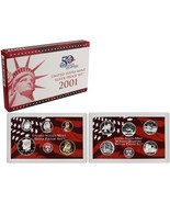 2001-S 90% Silver Proof Set United States Mint Original Government Packa... - $49.99
