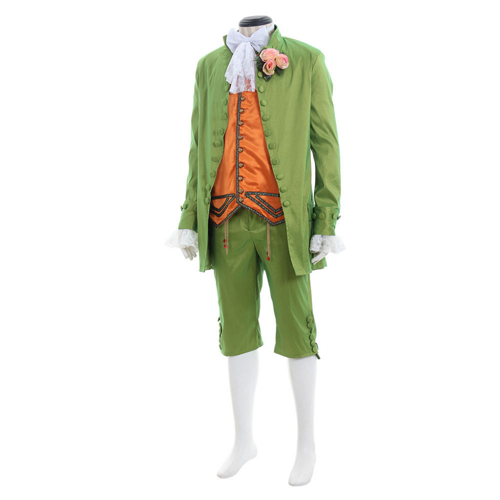 Mens Costume Medieval Renaissance Romeo Stage Tuxedo Suit Custom Made image 2