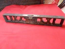 ANTIQUE Cast Iron Primitive Carpenter's LEVEL-The L.S.Stattett Co.Athol,... - $24.75