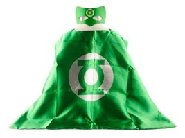 """GREEN LANTERN Cape and Mask Set NEW 28"""" x 28"""" One size Halloween Costume... - $11.29"""