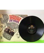 Hermans Hermits On Tour Vinyl Record Second Tour Collectible Vintage - $4.80