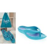 Tony Little CHEEKS Health Sandals, One Piece Foot Technology;Blue 8 - £18.89 GBP