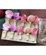 60pcs Postcard Wooden Paper Clips,Pin Clothespin for Children Birthday P... - $3.20+
