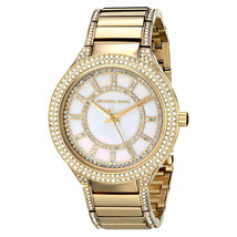 Michael Kors MK3312 Kerry Pave Crystal Glitz Gold Watch - $139.02