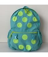 Gap Kids Girl Junior Sequin Polka Dots Green Backpack Weekend Travel Bag - $39.00