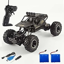 RC Car Rock Crawler 1/16 Off-Road Vehicle 4WD Electric Off Road Rock Cra... - $37.58
