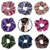 Hair Scrunchies Velvet, Elastic Hair Bands Scrunchie Hair Ties Ropes Scr... - $9.20