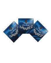 Savarez Guitar Strings 3-Pack Nylon Cristal Cantiga High Tension 510CJ - $47.90