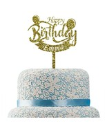 Buythrow® Happy Birthday Cake Topper Personalized Name Cake Topper For Kids - $26.41