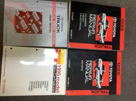1995 Toyota Truck Pick Up Service Repair Shop Manual Set W Ewd & Features Book X - $326.65