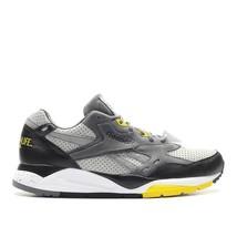 Mens Reebok x Distinct Life Bolton Detroit Tin Grey Shark Black Yellow A... - $59.99