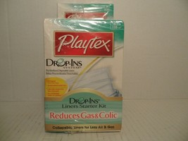 PLAYTEX Drop-Ins System Liners Starter Kit Includes 100 4oz Liners, 50 8... - $27.61