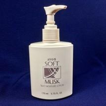 Rare Vintage 1992 Avon Soft Musk Silky Moisture Lotion 5.75 fl. oz. - NEW! - $18.66