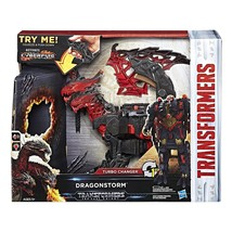 Transformers: The Last Knight Mega 1-Step Turbo Changer Dragonstorm - $28.05