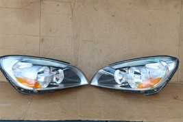 11-13 Volvo s60 Sedan Halogen Headlight Lamps Set LH & RH - POLISHED image 1