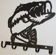 Bass Key Holder Metal Wall Art - $20.50