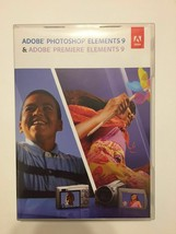 Adobe Photoshop Elements 9 & Premiere 9 Pc And Mac Os Version Cd Key Complete - $51.43