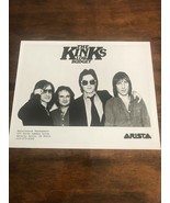 """Vintage Press Photo Of The Kinks for their """"Low Budget"""" Album Arista - $10.00"""