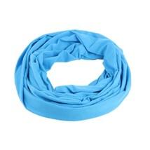 Soft Zipper Pocket Loop Scarf Women Autumn Winter Warm Blue O Ring Scarv... - $11.70