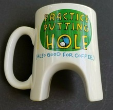 Golf Coffee Mug Cup Hallmark Shoebox Greetings  - $17.09