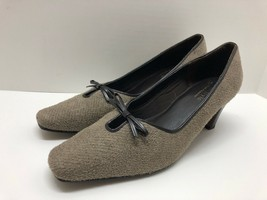 Hush Puppies Soft Style Women's Shoes Size 8 Brown Suede Heels - $22.23