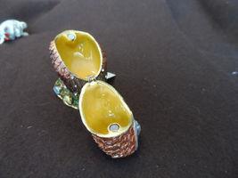 New metal hinged, jeweled trinket box - choice image 5