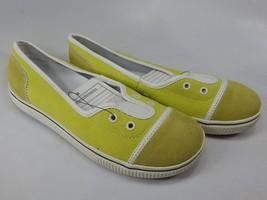 Spenco CVO S2 Size US 7 M (B) EU 37.5 Women's Sneakers Casual Shoes Yellow White