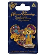 Disney Shanghai Resort Grand Opening Duffy Bear Limited Release Pin - $16.82