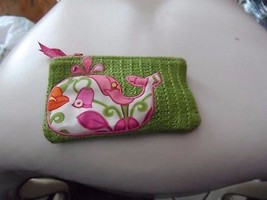 vera bradley small straw zipper pouch in Lilli Bell whale  - $23.50