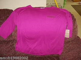 White Stag Purple Sequin Pocket Tee XXL (20) Women's NEW - $17.94