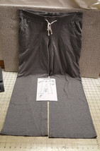 Old Navy Underpant Women's Pocket Casual Comfy Pant Relax Fit Dk Grey L Cot Poly - $9.50