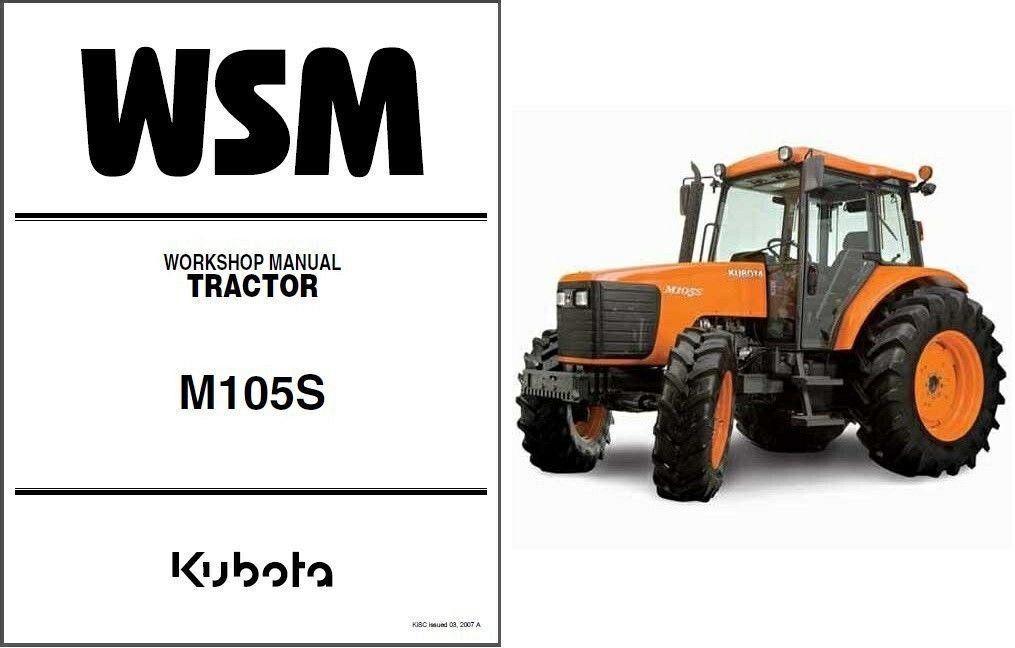 kubota m105s tractor wsm service workshop and 50 similar items rh bonanza com Kubota RTV 900 Wiring Diagram Kubota Wiring Diagram PDF