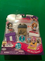 Gift 'Ems Series 1 Pack Of 3 Beijing China Montreal & A Surprise Doll NEW - $14.52