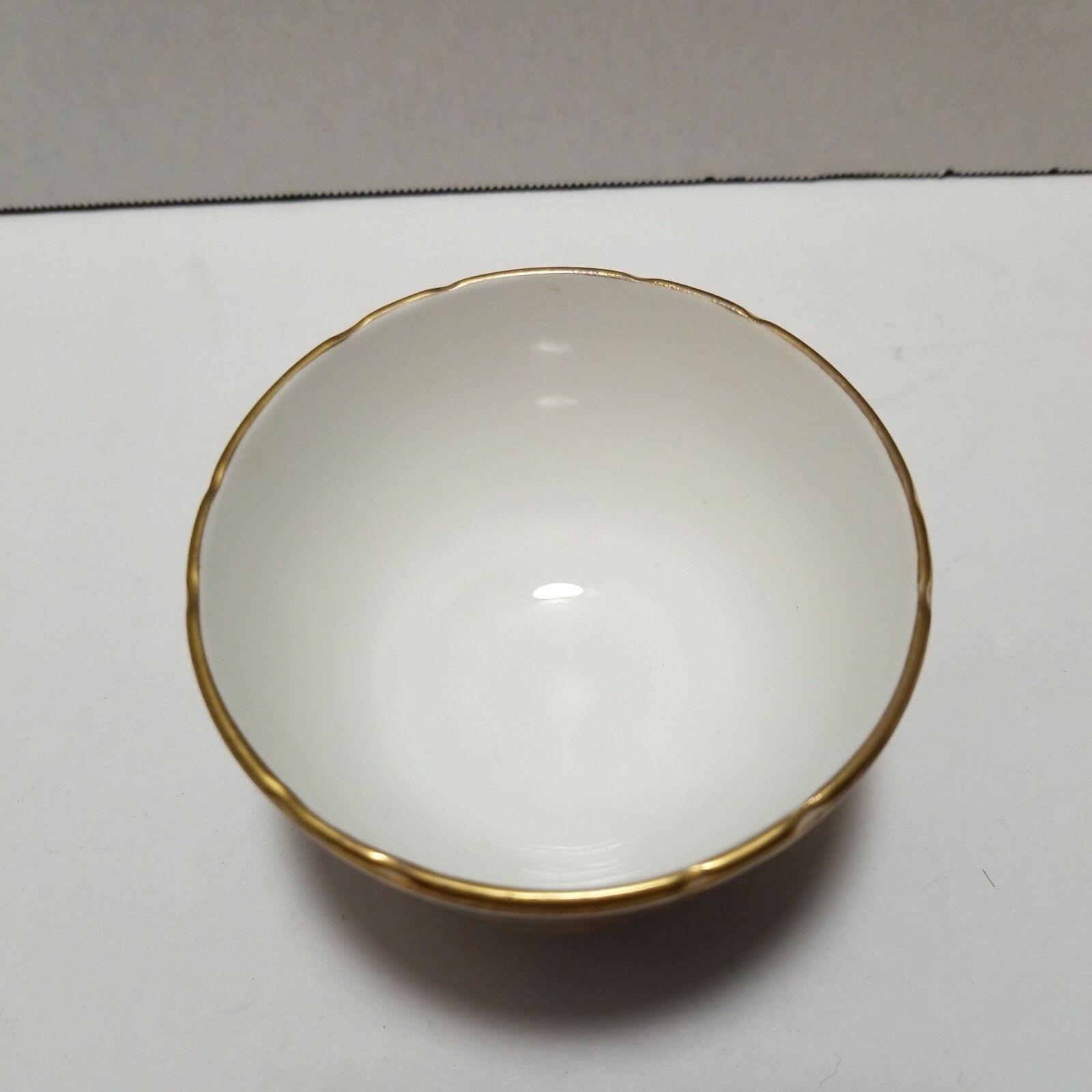 Aynsley Orchard Gold Mini Sugar Bowl and Creamer Set image 5