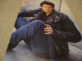Scott Weinger Edward Furlong teen magazine poster clipping Leather Jacke... - $4.00