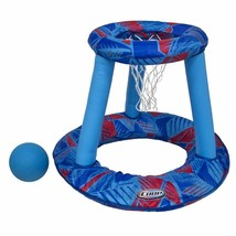 Water Spring Hoops Game Swimming Pool Children Play Summer Floating Bask... - $15.58