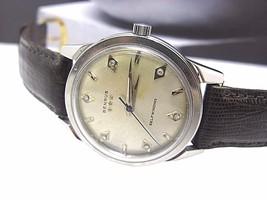 BENRUS Vintage tri Star self winding watch Switzerland Diamond Complete ... - $162.56