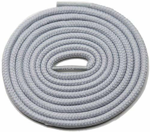 "Primary image for 54"" GREY 3/16 Round Thick Shoelace For All Women's Dress Shoes"
