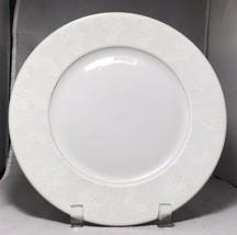 """Rosenthal Bavaria Germany White Velvet 10 ¼"""" gold rim set of 6 dinner plates - $157.41"""