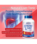 2boxes of US Clinicals Strong Liver 80 veg capsules Natural Liver Tonic ... - $228.99
