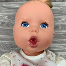 Vintage 1994 Gerber Baby Doll By Toy Biz 15 Inch Blue Eyes Bit of Hair P... - $10.00