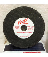 "Milwaukee Grinding Wheels Tool Portable CHOICE Grit 36 or 60 2.5"" or 3"" ... - $10.34"
